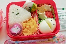 BENTO / Japan inspired bento board. These are the snack ideas and food you should prepare for your loved ones when they are on the go. Mostly there's healthy food inside. / by Patrick Welker