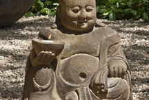 Buddha head fountains / by Nina Perazic