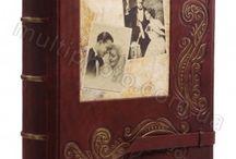 Кожаные фотоальбомы