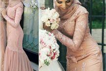 HIJABERS DRESS / wedding moslem