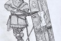 Warriors, battles, skirmishes