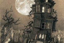 Scary cartoon project