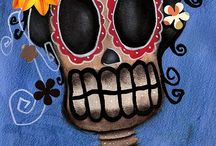 Abril Andrade : Day of the Dead Art