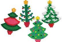 Strijkkralen - kerst