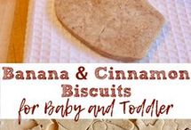 Toddler food and desserts
