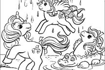 coloring pages 2 (my little pony)