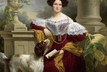 women's portraits 1830s