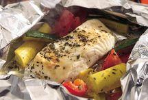 Seafood Recipes / by Jessica Rhoads