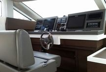 helm area yacht/car