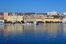 Rijeka - Kvarner - Kroatien / Rijeka in Kroatien ist die europäische Kulturhauptstadt 2020. Obwohl die Stadt von Industrie geprägt ist, bietet sie zahlreiche Prachtbauten aus unterschiedlichen Epochen.