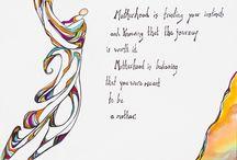 Baby Thoughts - Motherhood Poetic Art and Inspiration / Creative poetic artwork devoted to the journey of motherhood and parenthood.