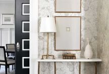 Accent furniture and mirror collection