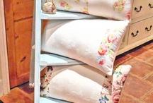 Ladder of cushions!