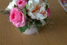 floristika dekorace kvetiny