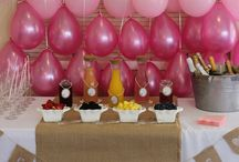 Pretty in pink baby shower