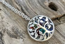 Birthstone locket