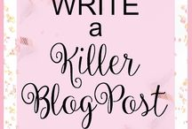 Blogging tips & ideas