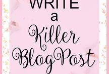 Blogging tips & ideas