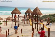 Let's have fun in Cancun! / Snapshots of interesting destination spots, happenings, Mexican food and people at Cancun, Mexico. Ruins, local hangouts, public beaches, restaurants, public markets, fiestas, etc.-- GalleonAdventures.com:  Cancun & Riviera Maya Tours