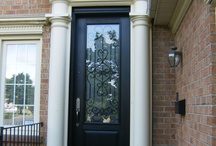 Recent Projects / See how a new door by Home Decor Window & Door Centre  can transform your home...