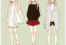 Anime fashion