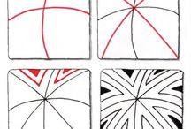 Zentangle patterns <3