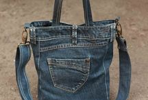 Jeans bag.