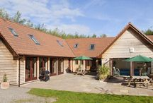 Thorncombe / Somerset West country holiday home sleeping up to 14 with indoor heated pool