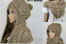 Capuchas con bufanda
