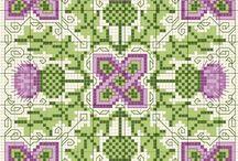 Biscornu, Smalls, FOB's Cross Stitch