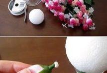 Arreglos florales.
