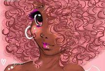Cabelo crespo / Montrer la beauté des cheveux afro