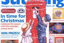 Cross stitch magazines / by Love the DIY