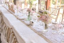 Rustic Wedding / This couple was all about having an elegant, relaxed event but with a lot of emphasis on the little details and custom designed style. Mixed vintage jars adorned with rustic styled florals to compliment wooden elevations, wooden table numbers with custom menus as well as laser cut wooden tags. No detail was forgotten, including a Drink Station, Fingerprint Tree, Guest Table, Candy Bar + more. This was definitely a memorable event with guests overwhelmed from this well thought out style. Rustic.