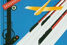 Tadeusz Gronowski /  polaco gráfico artista, arquitecto que trabajó como diseñador de interiores , pintor , y un ilustrador de libros .  Considerado como uno de los creadores del cartel moderno polaco . Entre sus obras está el logotipo utilizado todavía de las LOT Polish Airlines , que se remonta a 1929.