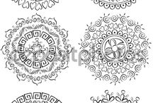 Indian ornaments & Pattern