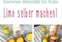 Sommeraktivitäten für Kinder / Einfache und kreative Aktivitäten und Beschäftigungsideen für Kinder während des Sommers!