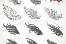 Tatuaggi con ali