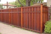 fence and retaining ideas