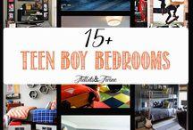 Inspiration for boys room