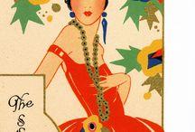 vintage ephemera: card