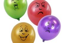 Thema ideeën werk - ik voel me... Emoties