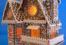 Chatka z piernika - Gingerbread House