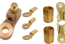 General Brass and Copper Parts / We offer Brass Cast Stamped Lugs that can be customized according to customer's requirements. This is mostly use in Various Electromechanical application.