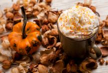 Pumpkin Spice Latte / Pumpkin Spice and Vanilla White Hot Chocolate  OK, so we couldn't complete a list of alternatives to Pumpkin Spice without including Pumpkin Spice? Hear us out though, this is no ordinary Starbucks Pumpkin Spice Latte, it's so simple you'll wonder why you've not come across it before.