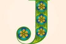 Letter J / by Janet Vigil