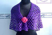 Purple Glam Shawl