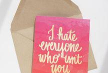 greeting cards / by Shawn Barnes