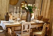 dining area / by Mary Fluaitt