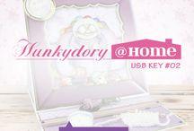 Hunky dory USB key